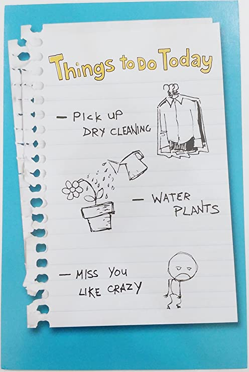 Amazoncom Miss You Like Crazy Greeting Card Cute Sweet Missing