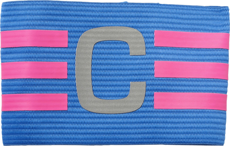 adidas Herren Football Captain Armband Armbinde Blue/Shock Pink OSFM ADIEY|#adidas BQ2538