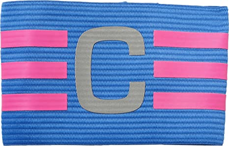 best service 0c271 9ea6a adidas da Uomo Football Captain Fascia da Braccio, Uomo, Football Captain  Armband, Blue