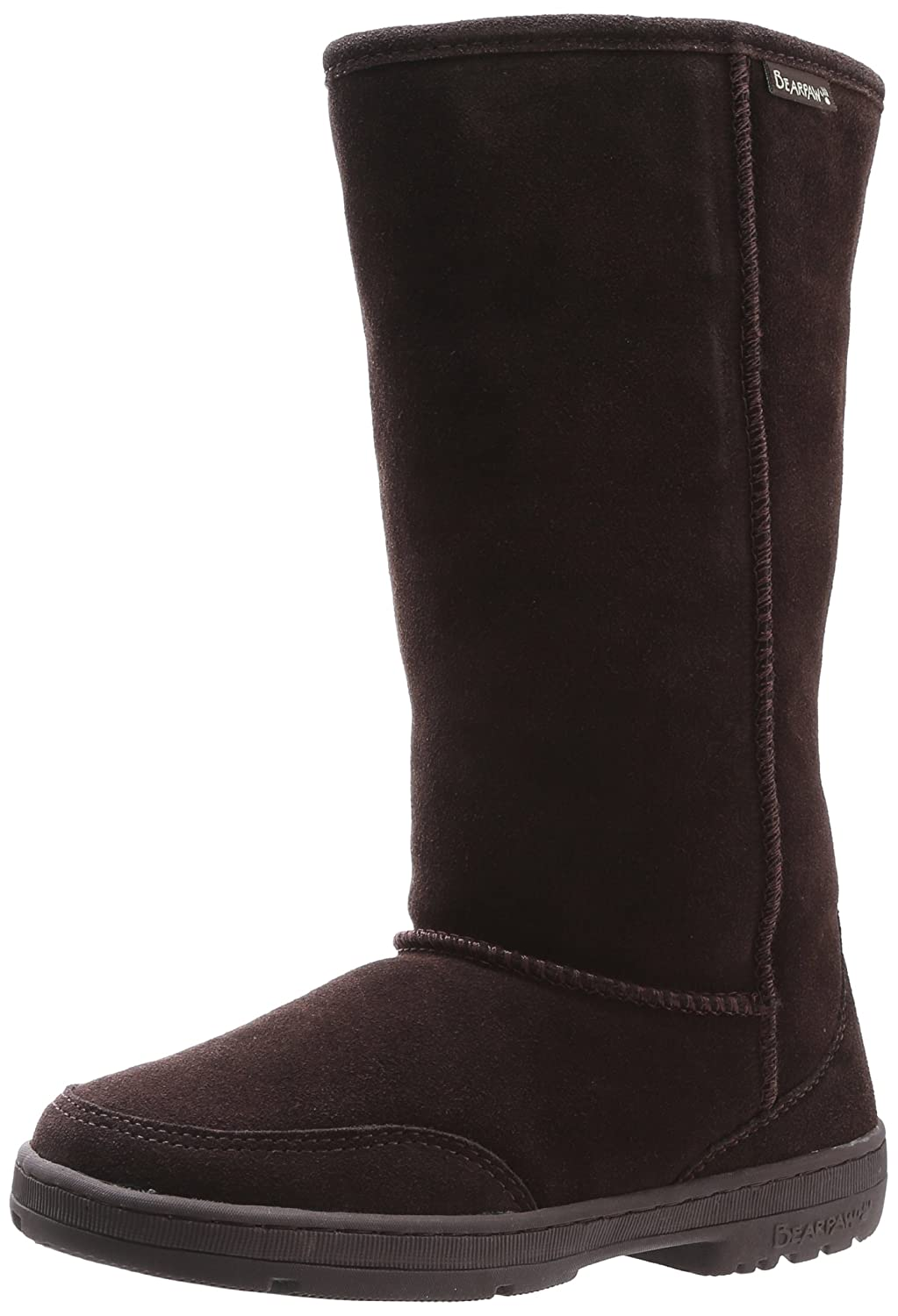 BEARPAW Women's Meadow Mid Calf Boot B01MUCCZ08 42 M EU|Chocolate