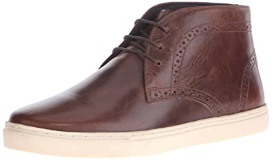 Crevo Men's Marston Chukka Boot,Brown Leather,8 ...