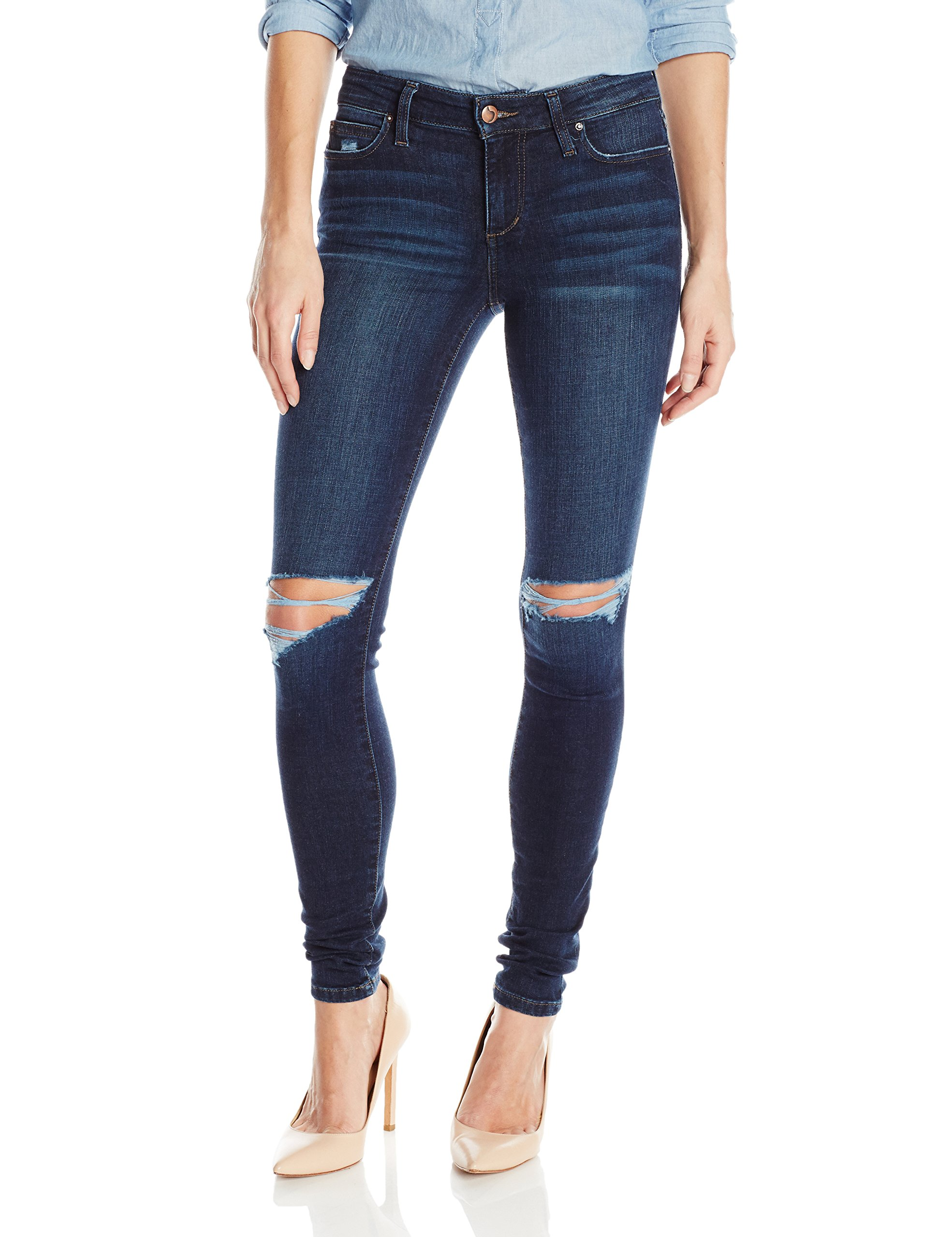 Joe's Jeans Women's Flawless Icon Midrise Skinny Jean, Kennide, 30 by Joe's Jeans