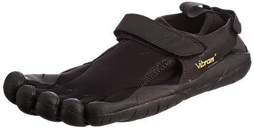 Vibram Five Fingers - Zapatillas de Deporte de Cuero para Mujer: Amazon.es: Zapatos y complementos