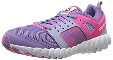 Reebok Girls Twistform 2.0-K, Grey/Smoky Moon Violet/Solar Pink