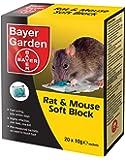 Bayer Garden Bloc souple de poison pour rats et souris