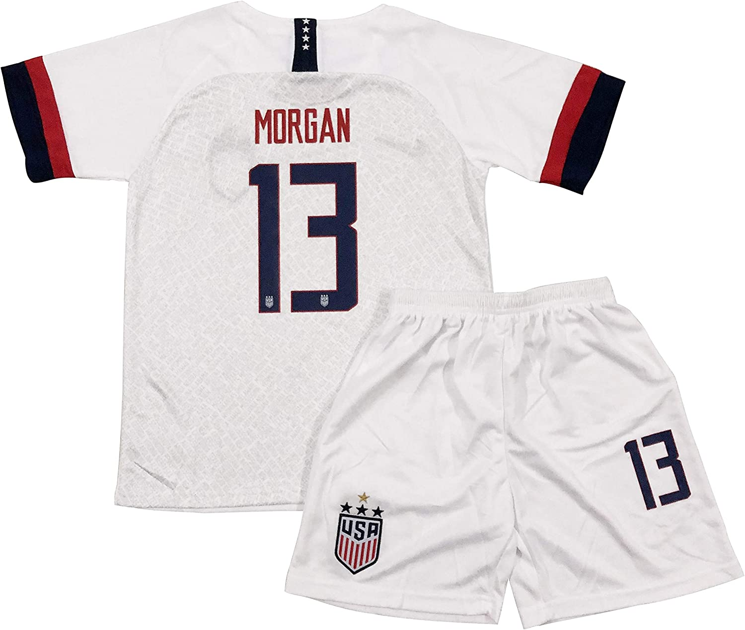 Rowex New Morgan 13 USA Home Jersey & Shorts for Kids & Youths