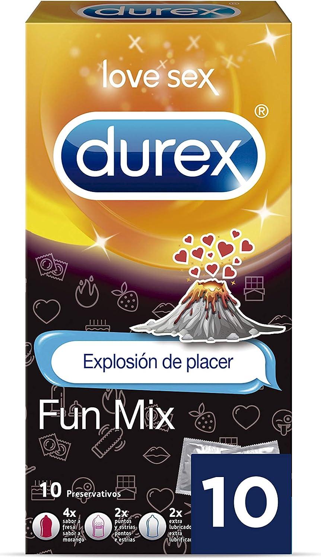 Durex Preservativos surtidos con Emojis Fun Mix - 10 Condones ...