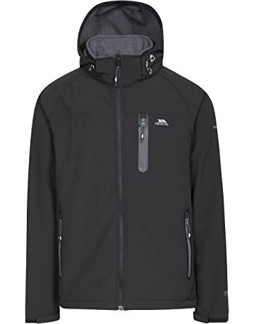 a44bbbe7 Trespass Accelerator II Mens Waterproof Softshell Jacket with Removable Hood