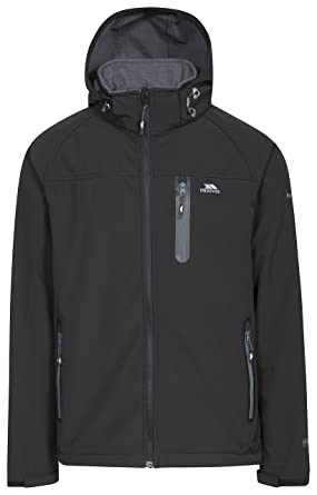 3a2218c2d Trespass Accelerator II Mens Waterproof Softshell Jacket with Removable Hood