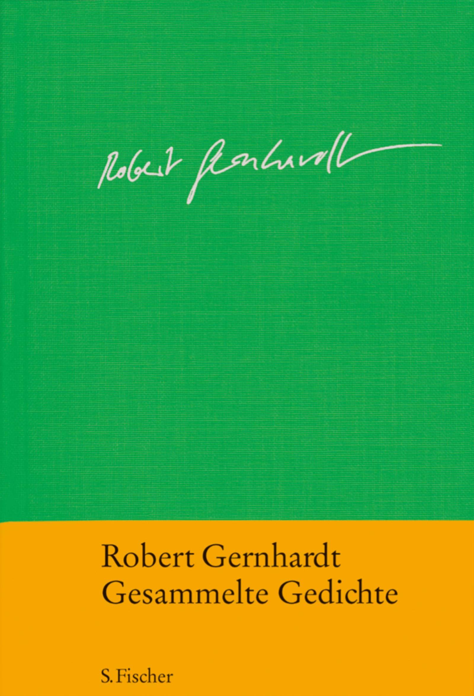 Gesammelte Gedichte Robert Gernhardt 9783100255068 Amazon
