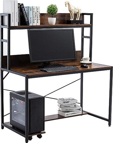 47″ Industrial Computer Desk - a good cheap modern office desk