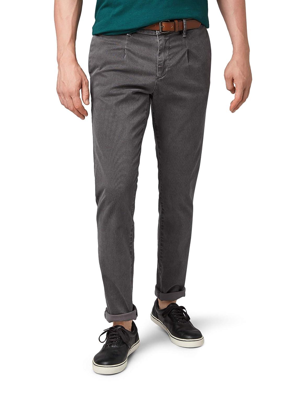 TALLA W32 (Talla del fabricante: XX-Large). Tom Tailor Denim Casic Chino Mit Leichtem Muster, Pantalones para Hombre