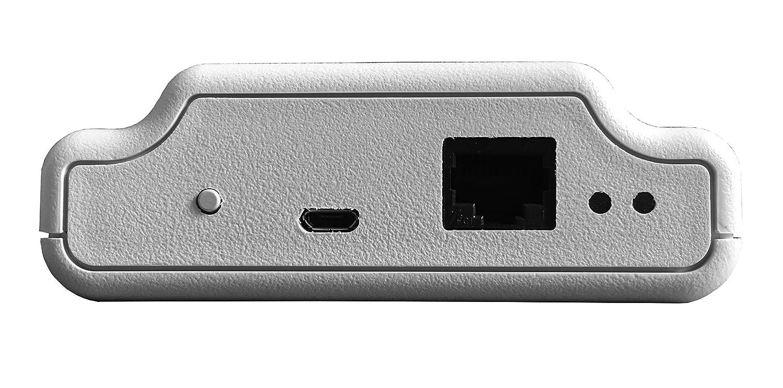 Haverland 321123 SmartBox - Hub / puente de conexión controlable vía WiFi, calefacción Inteligente, compatible con Alexa y con App, Blanco: Amazon.es: Hogar