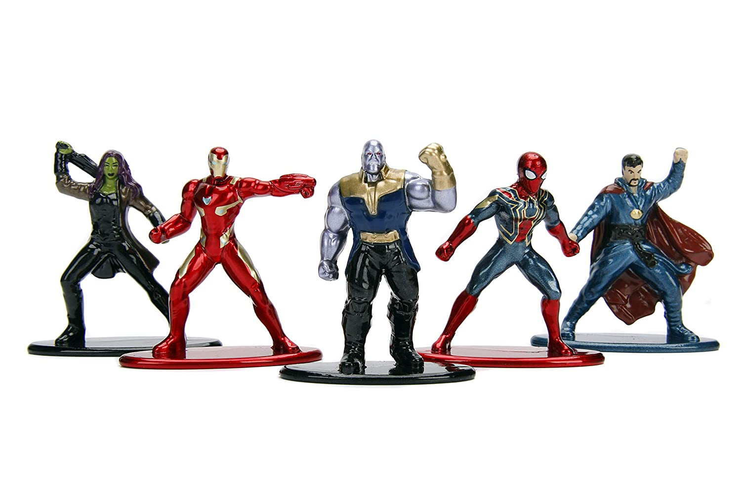 Nano Metalfigs Marvel Avengers Movie Infinity War Wave 1 Metals Die-Cast Collectible Toy Figures 1.65 Multicolor 1.65 Jada Toys 99919