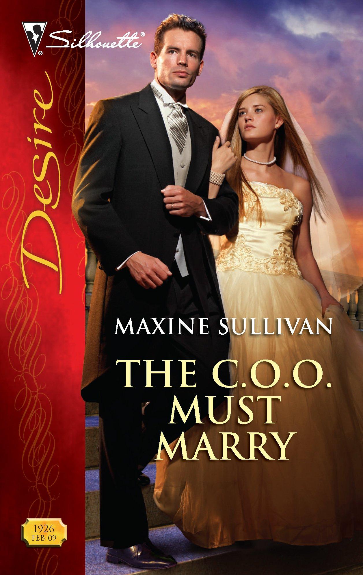 Read Online The C.O.O. Must Marry (Harlequin Desire) pdf epub