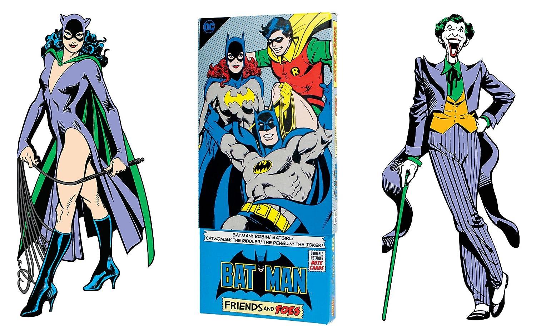 Amazon Batman Greeting Card Boxed Set Die Cut Silhouette