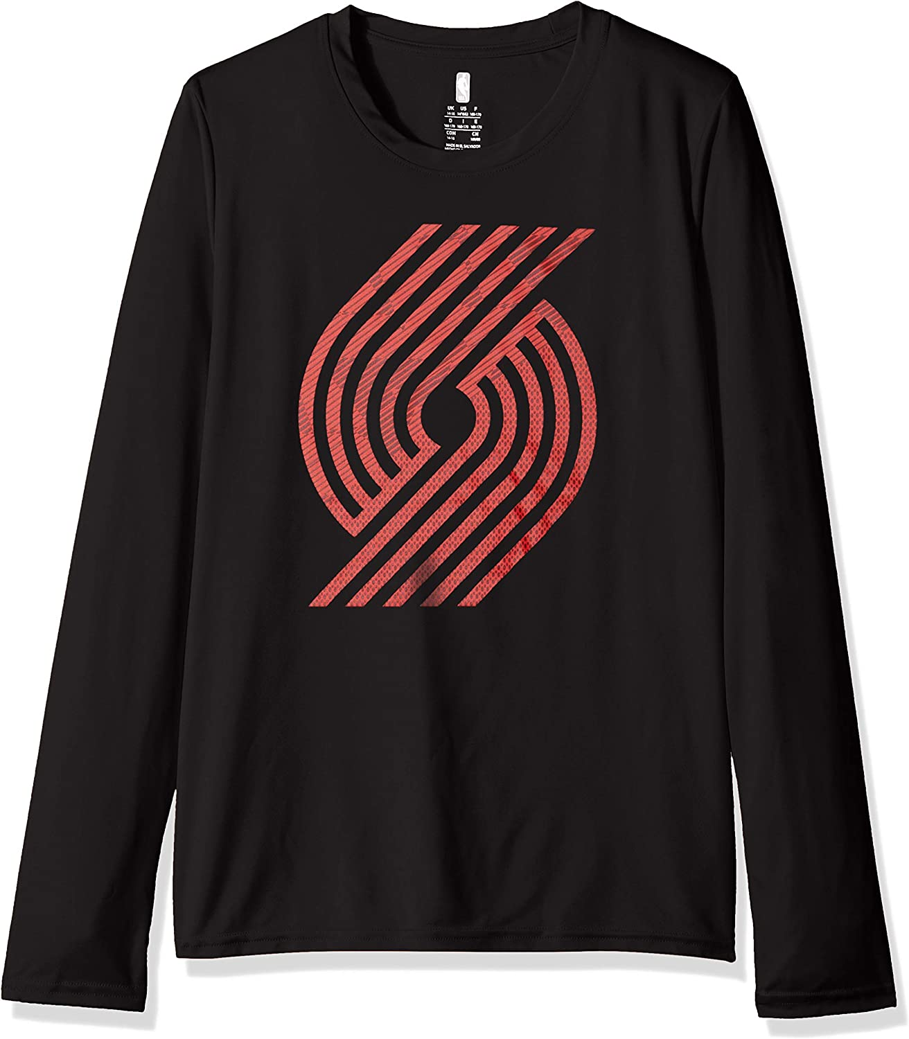 NBA by Outerstuff NBA Kids /& Youth Boys Defensive Long Sleeve Dri Tek Tee