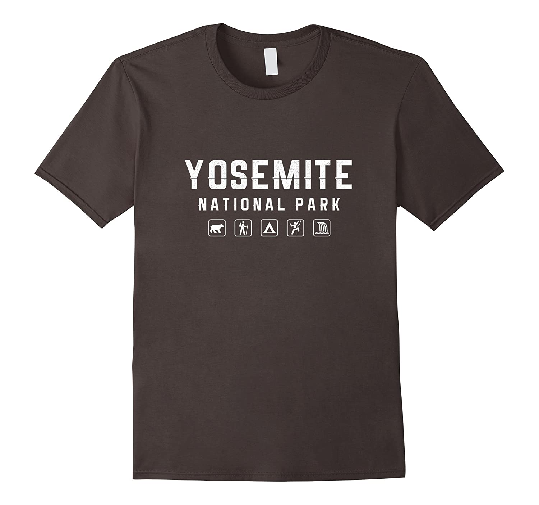 Yosemite National Park Icon T-shirt-Teevkd