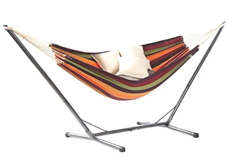 lambada backyard hammock and ceara hammock stand by byer of maine  tropical  amazon     lambada backyard hammock and ceara hammock stand by      rh   amazon