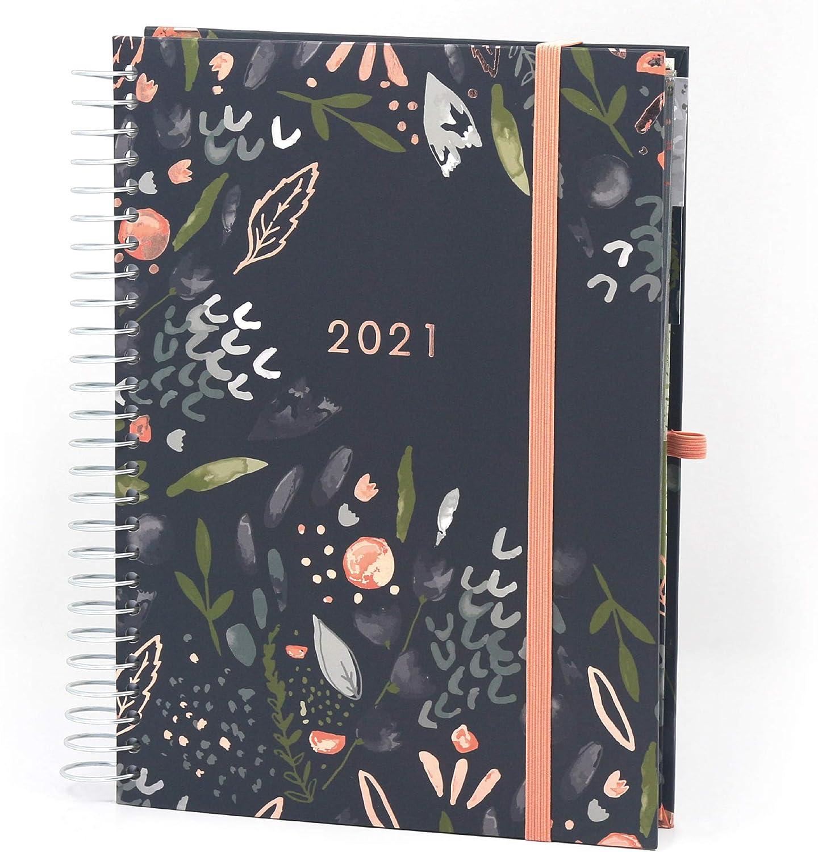 (En inglés) Agenda 2020 2021 Life Book de Boxclever Press. Agenda escolar 2020-2021 comienza mediados agosto '20 a diciembre '21. Agenda semana vista A5 con listas, secciones para planificar y más.