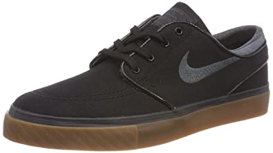 b8da2e1bf877 Nike New SB Zoom Stefan Janoski Canvas Black Anthracite Gum Medium Brown  Men s Skate