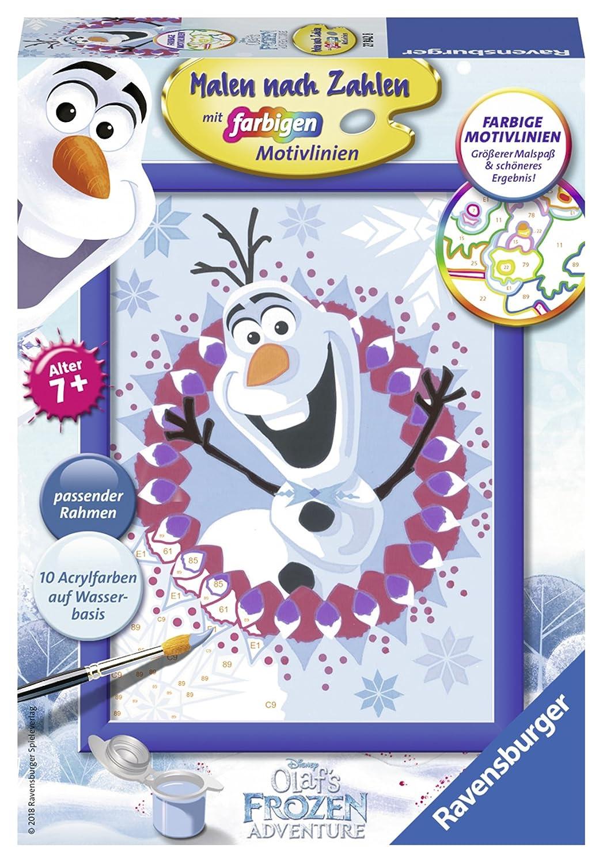Ravensburger Malen Nach Zahlen 27842 Disney Frozen Olaf