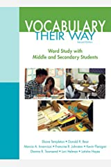 Words Their Way: Vocabulary for Middle and Secondary Students (Words Their Way Series) Kindle Edition