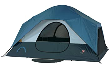 Swiss Gear Falera Family Dome Tent (Blue/Grey)  sc 1 st  Amazon.com & Amazon.com : Swiss Gear Falera Family Dome Tent (Blue/Grey ...