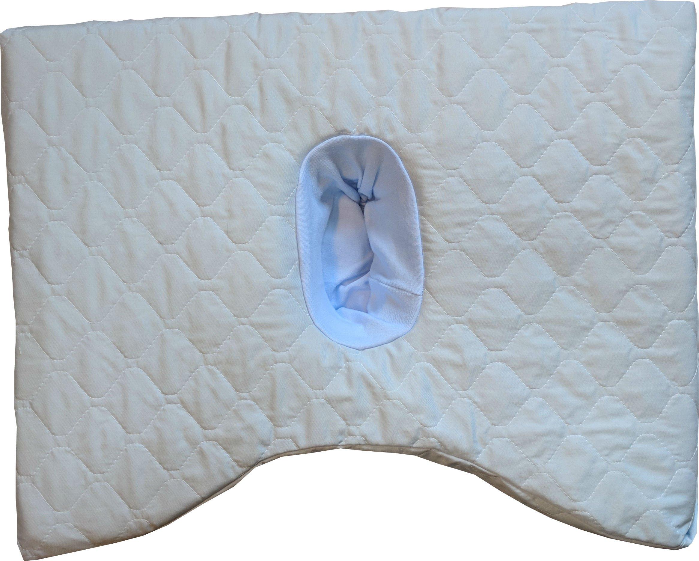SleepEasy CNH Pillow (light blue, Memory foam)