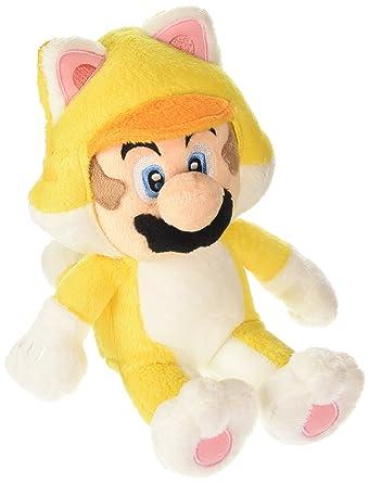 Super Mario Bros 22 cm Official Sanei Mario 3D World Cat