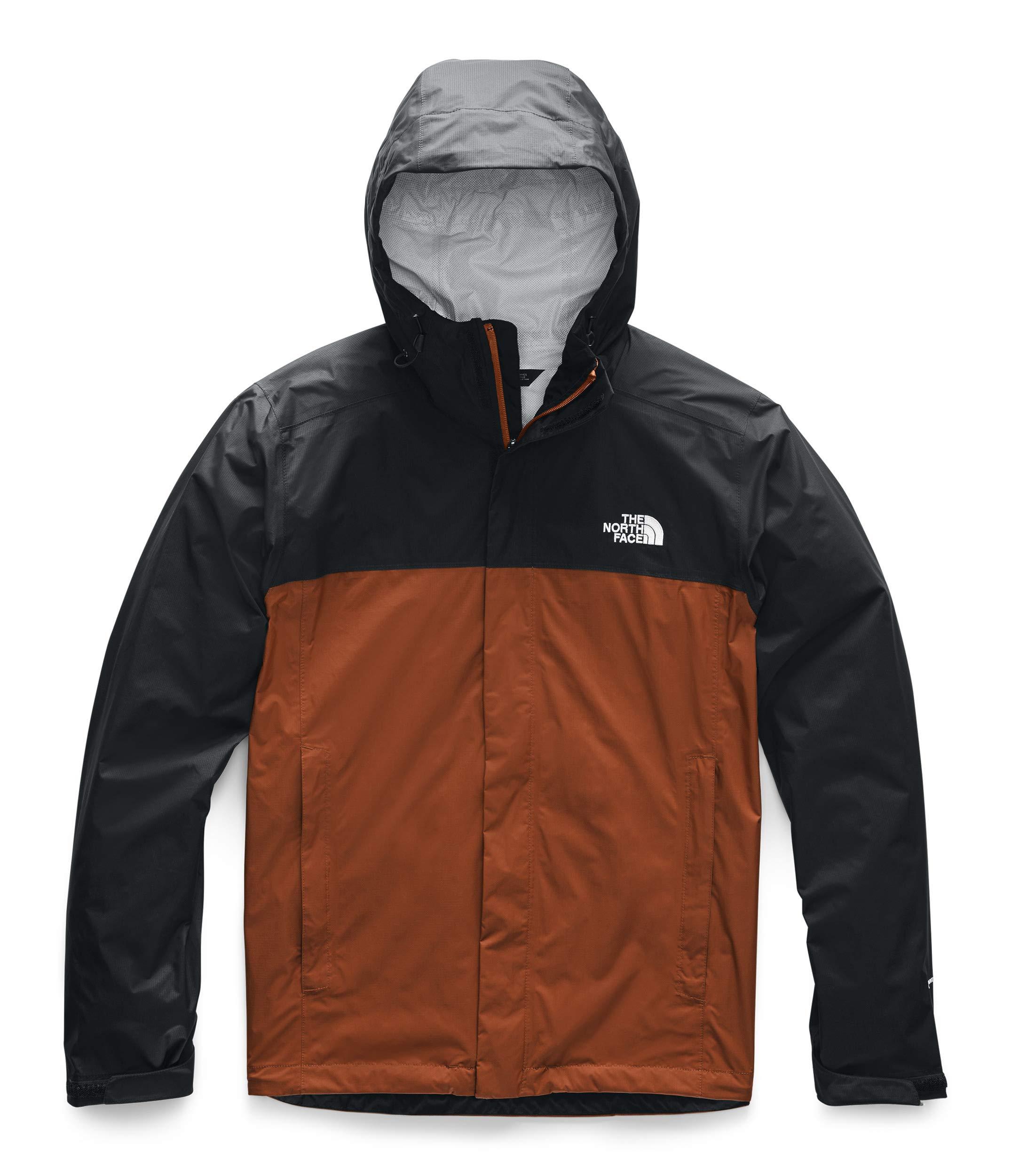 The North Face Men's Venture 2 Jacket, Picante Red/TNF Black, L