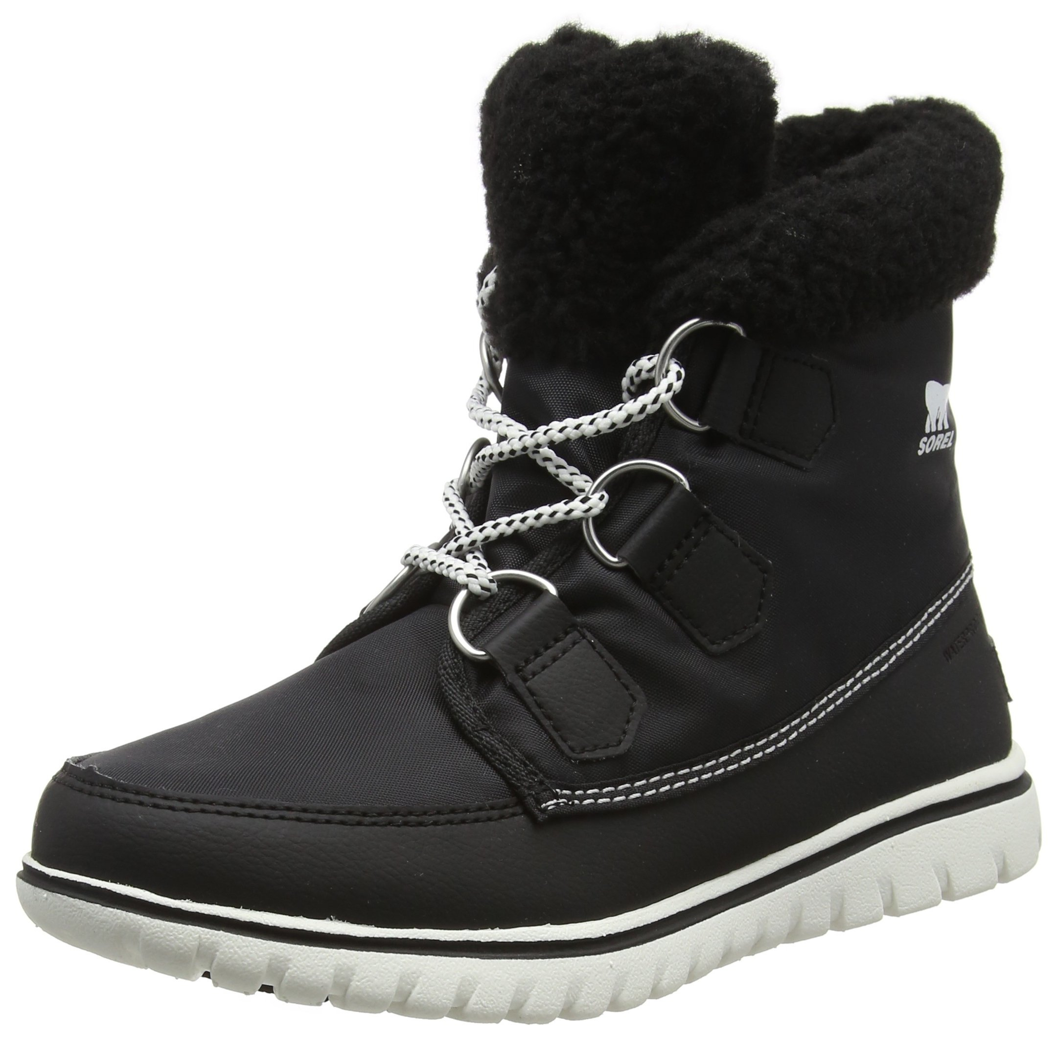 Sorel Women's Cozy Carnival Booties, Black, 8 B(M) US