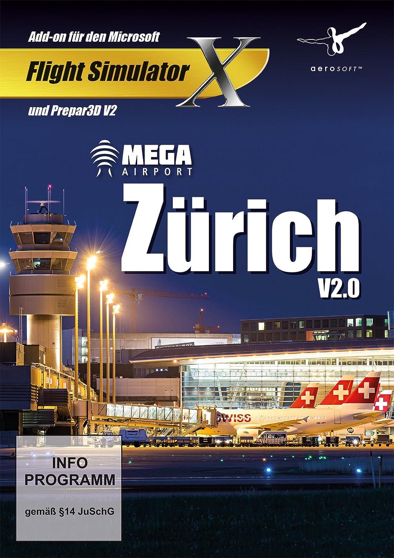 Mega Airport Zurich 2 0 - Add-on for Microsoft Flight Simulator X (FSX) or  PREPAR3D