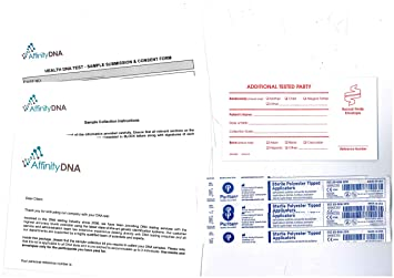 Lactose Intolerance Home DNA Testing Kit - Accurate Genetic