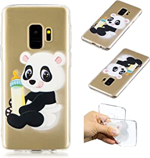 Lomogo Coque Samsung Galaxy S9, Housse Gel Silicone Anti-Choc Anti-Rayures Souple Coque de Protection pour Samsung Galaxy S9 - LOBFE11872#9