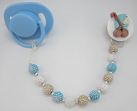 Cristal sueño elegante azul acrílico perlas de mini hecho a ...