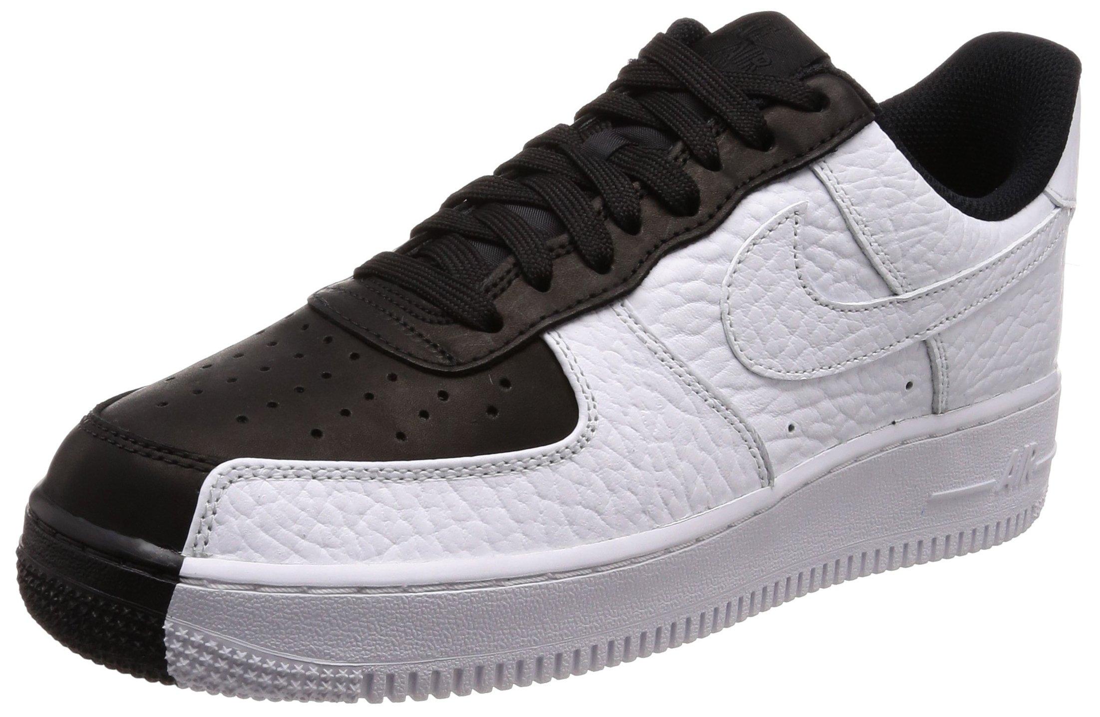 Nike Men's AIR Force 1 '07 Premium Shoe WhiteBlack (10 D(M) US)