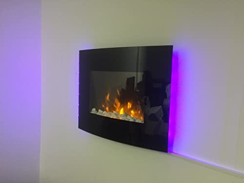 Dimplex Bizet 2kw Wall Mounted Electric Fire Amazon Co Uk