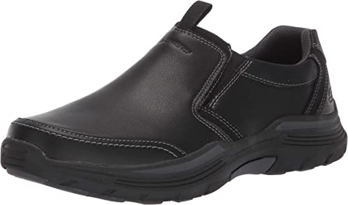 Expended-morgo Leather Slip on Moccasin