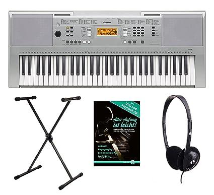 """Yamaha YPT-200 340 Juego de teclado (61 teclas anschlagsdynamische, """""""