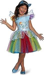 Rainbow Dash Tutu Deluxe My Little Pony Costume, Small/4-6X