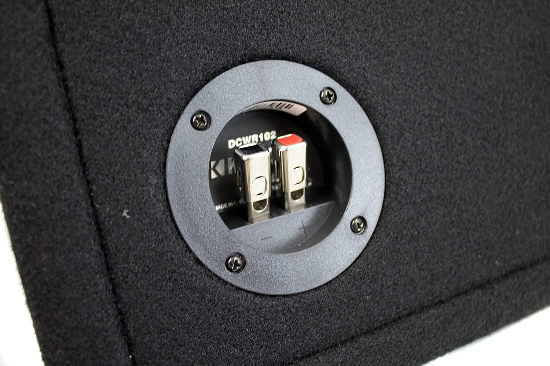 43DCWR102 Kicker 10 1600W 2-Ohm Vented Dual Loaded Car Enclosure Subwoofers