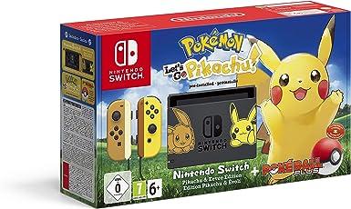 Nintendo Switch Pikachu & Eevee Edition + Pokémon: Lets Go ...