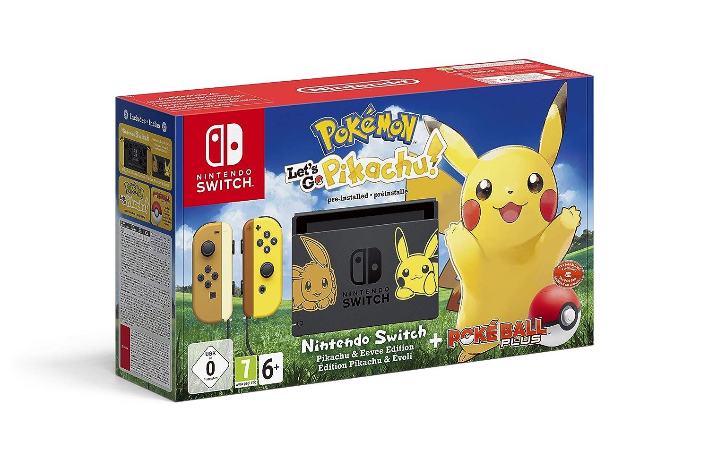 Nintendo Switch Pikachu Eevee Edition Pokémon Let S Go Pikachu