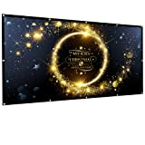 Amazon Price History for:Owlenz 120 inch Projection Screen 16:9 HD Foldable Anti-crease Portable Projector Movies Screen for Home Theater Outdoor Indoor Support Double Sided Projection , 2.5 lbs Only