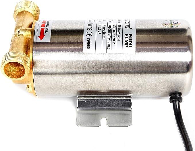 90W Nordstrand Presión de agua Aumento Booster Pump Diafragma ...