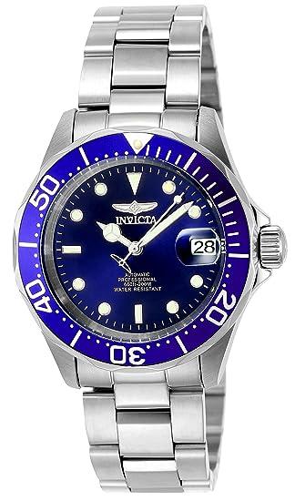 4e5bb8cc0e9a Invicta 9094 Pro Diver Reloj Unisex acero inoxidable Automático Esfera  azul  Invicta  Amazon.es  Relojes