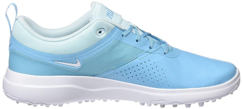 Nike Golf Ladies Akamai Shoes B00CX496HY 8 B US|Vivid Sky/White-Glacier Blue