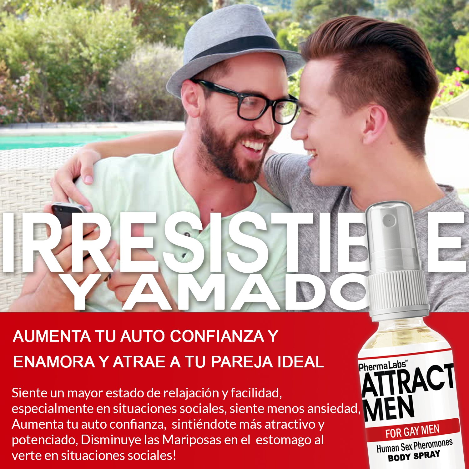 Amazon.com : Gay Feromonas Body Spray para Hombres- 1 oz - Atraer Hombres instantáneamente- Mayor Concentración De Feromonas Posible- Aumenta El libido- y ...