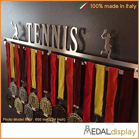 TENNIS Medagliere da parete MEDALdisplay Medal Hanger Porta medaglie TENNIS